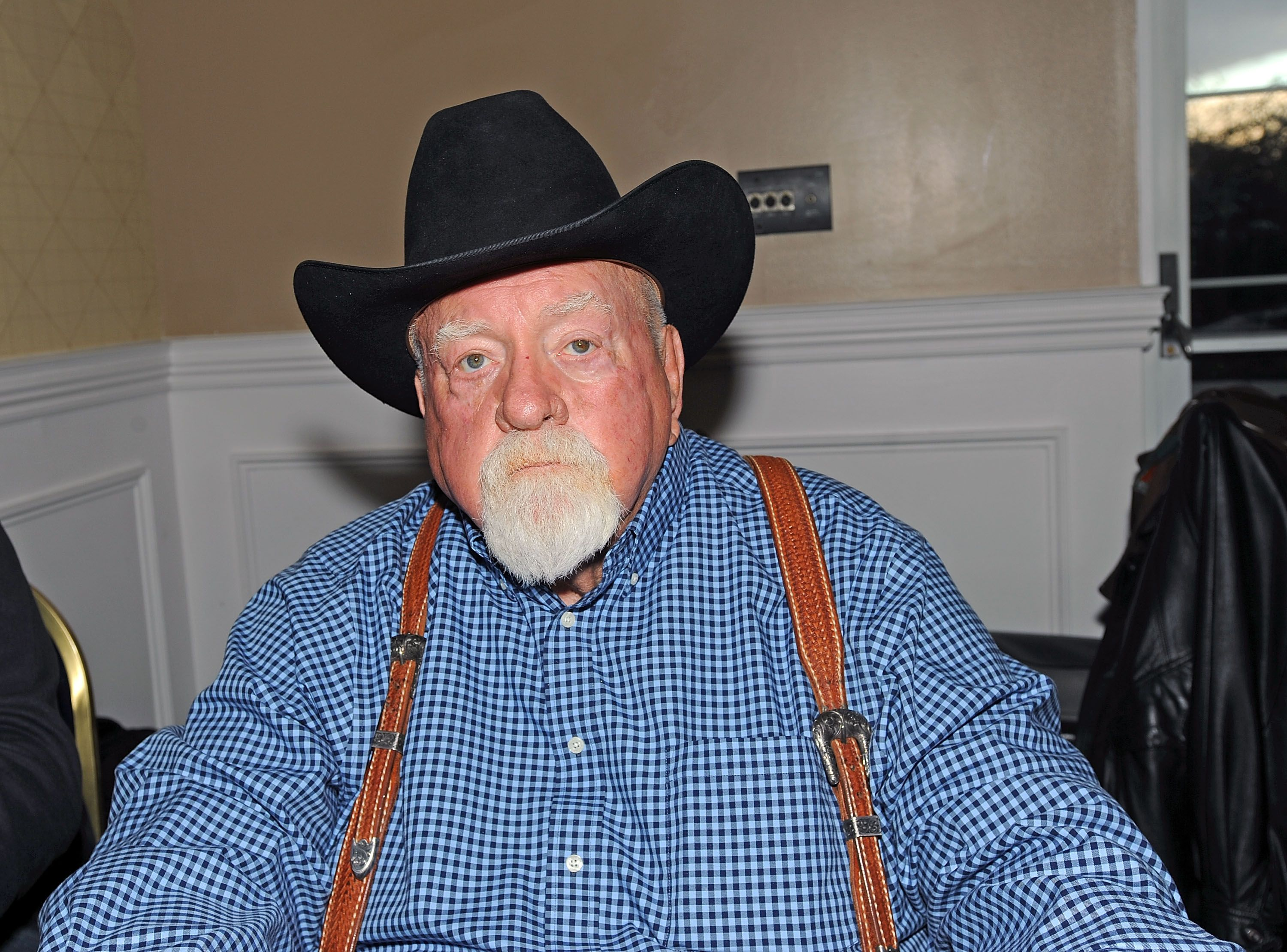 Actor Wilford Brimley at the 2017 Monster Mania Con at NJ Crowne Plaza Hotel in Cherry Hill, New Jersey | Photo:Getty Images