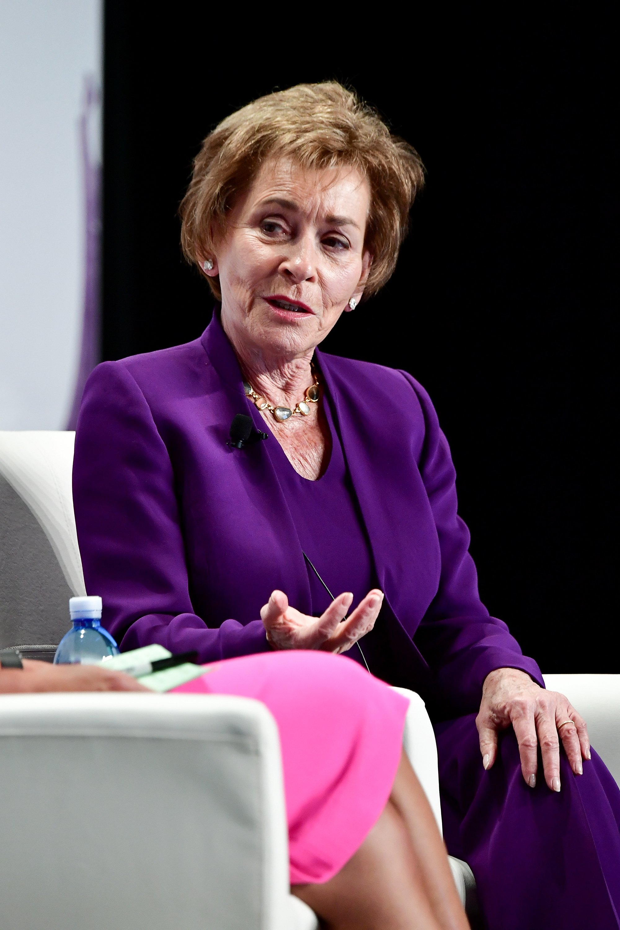 Judge Judy Sheindline attends the Forbes Women's Summit in New York City on June 13, 2017 | Photo: Getty Images