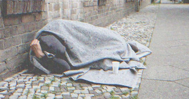 I found my dad sleeping on the streets.   Source: Pexel
