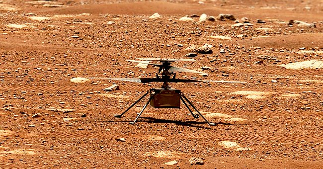 NASA Helicopter 'Ingenuity' Encounters First Major Problem While Flying Over Mars