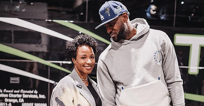 LeBron James Shares Touching Tribute to His Wife Savannah and Cute Pics of the Couple