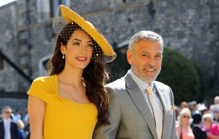 Amal and George Clooney can potentially be chosen as godparents by the Duke and Duchess of Sussex. | Photo: Getty Images