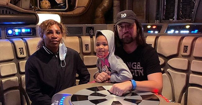 Serena Williams' Husband Alexis Ohanian Shares Their Family Photo on Disney's 'Star Wars' Ride