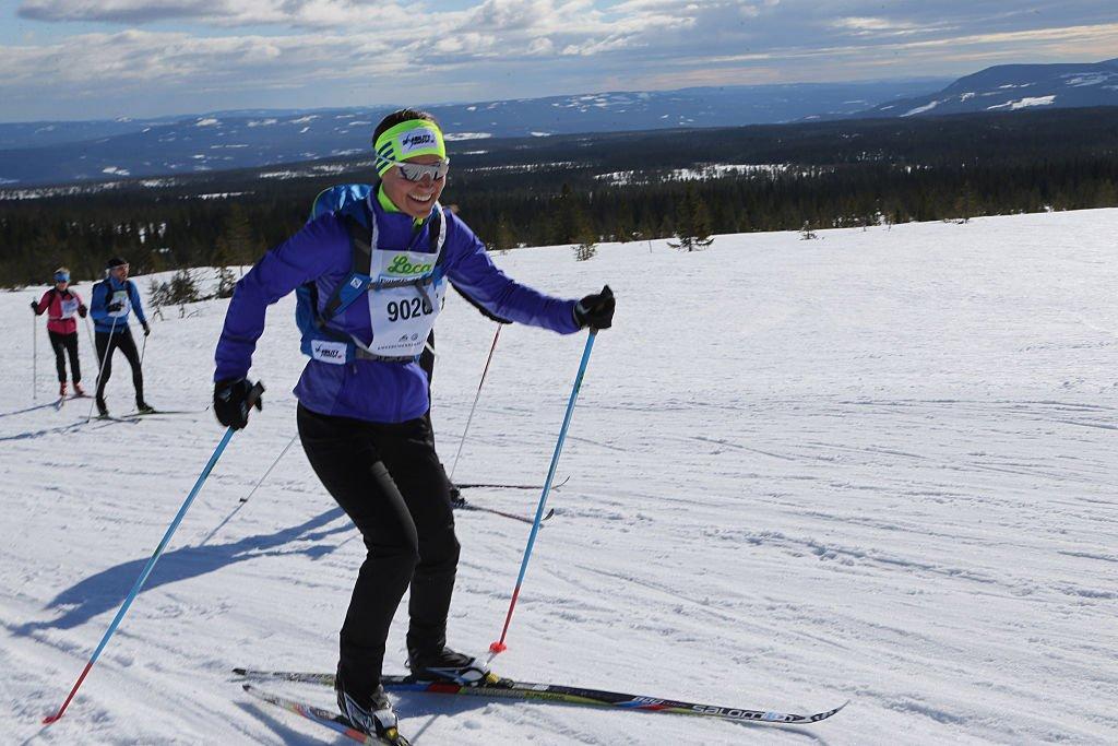 Pippa Middleton lors d'une course de Ski en 2016. l Source : Getty Images