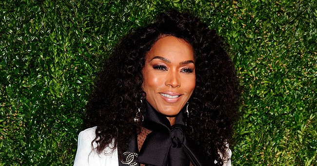 Check Out Angela Bassett's Glamorous Look for 'Soul' Promo as She Poses in a Pink Belted Suit