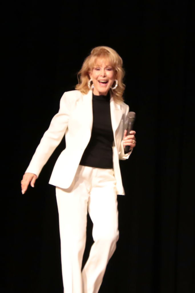 Barbara Eden, Special Guest & Emcee hosts the 2019 Mr. Mature America Pageant at the at Ocean City Music Pier | Getty Images