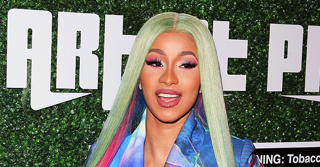 Cardi B Dresses Kulture in a Givenchy Ensemble with a Red Balenciaga Bag — See Her Stylish Look