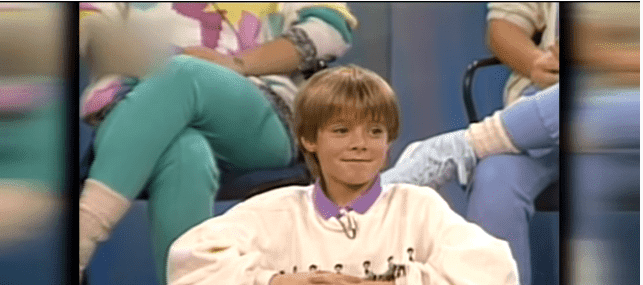 Danny Pintauro's interview with ET in 2015   Photo: YouTube/Entertainment Tonight