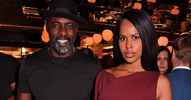 Idris Elba's Wife Sabrina Slays the Red Carpet in Colorful Flowy Dress at the British Fashion Awards