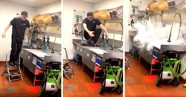 Video of Fast Food Employee's Unusual Celebration of His Last Day at Work Goes Viral