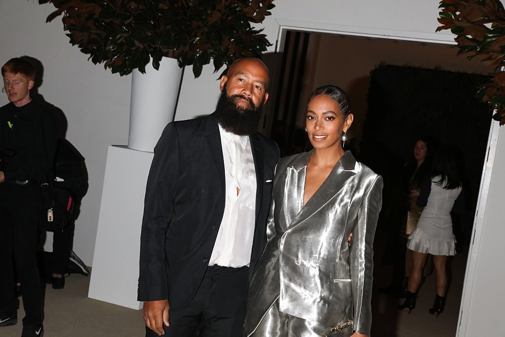 Alan Ferguson and Solange Knowles attend the 13th Annual CFDA/Vogue Fashion Fund Awards at Spring Studios. | Photo: Getty Images