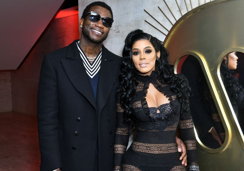 Gucci Mane and Keyshia Ka'oir at a Pre-Grammy party hosted by Warner Music in January 2018. | Photo: Getty Images