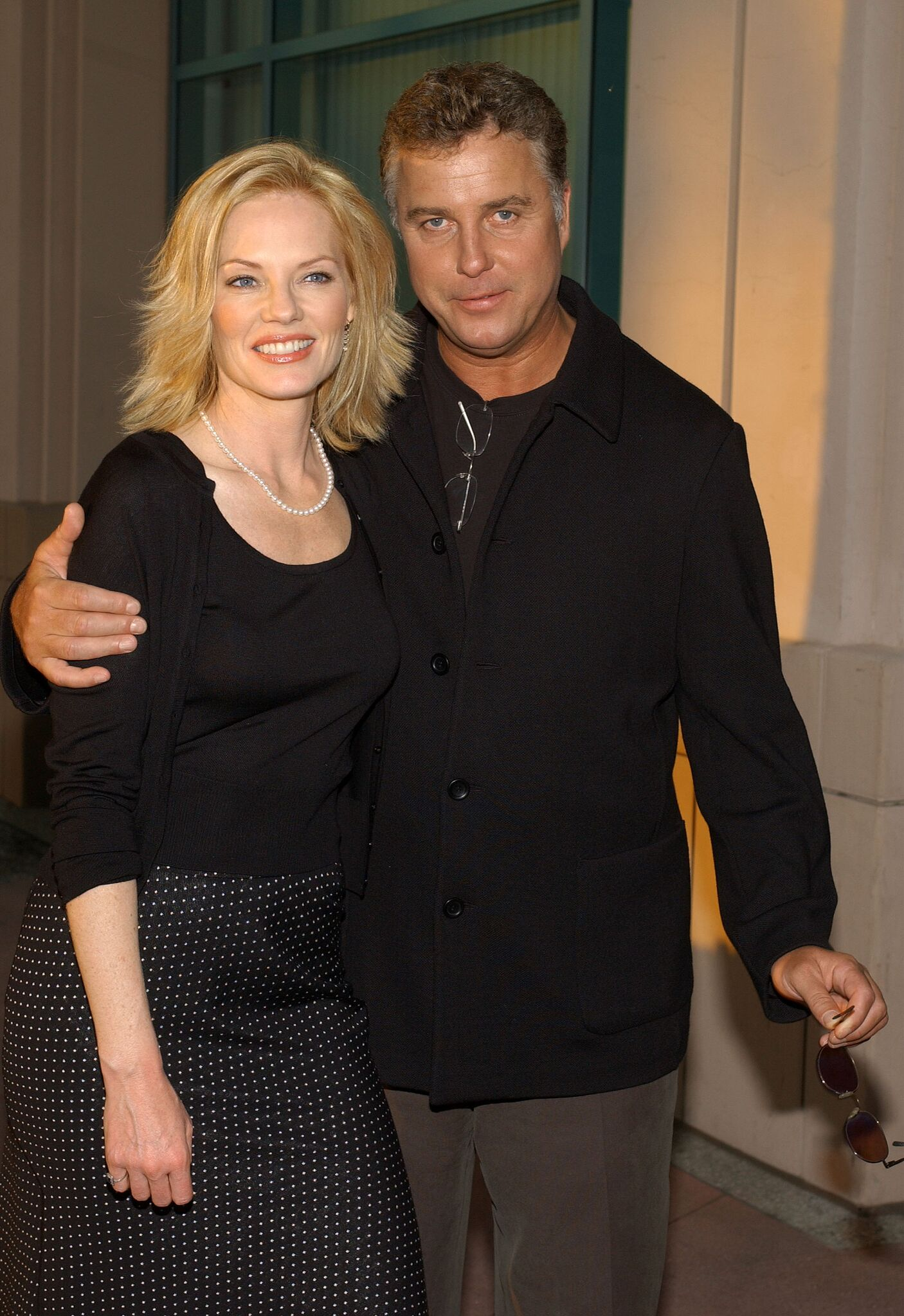"Marg Helgenberger and William Petersen attend ""Behind the Scenes of CSI: Crime Scene Investigation"" 