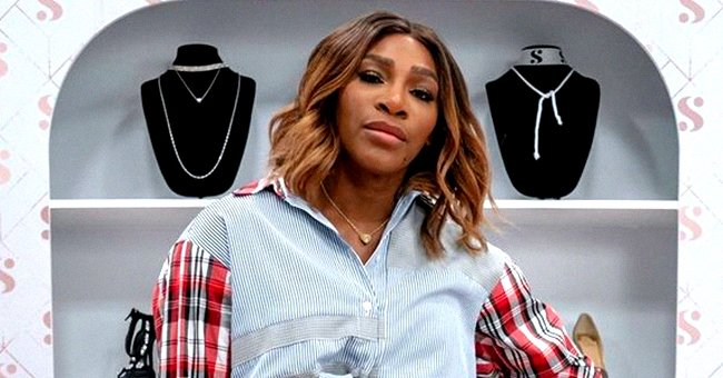 Serena Williams Displays Her Incredible Figure in Tight Dress from Her S by Serena Fashion Line