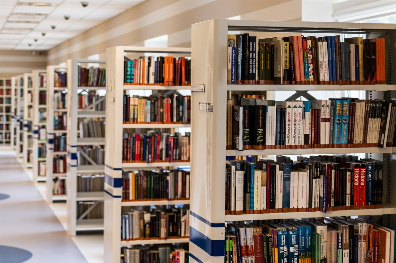 Photo of a library with different shelves filled with books |  Photo: Pexels