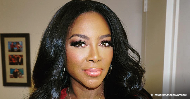 Kenya Moore's Muscular Husband Kisses Baby Brooklyn in New Photo