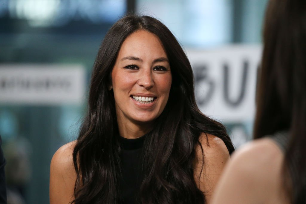 "Joanna Gaines discusses new book, ""Capital Gaines: Smart Things I Learned Doing Stupid Stuff"" at Build Studio. 