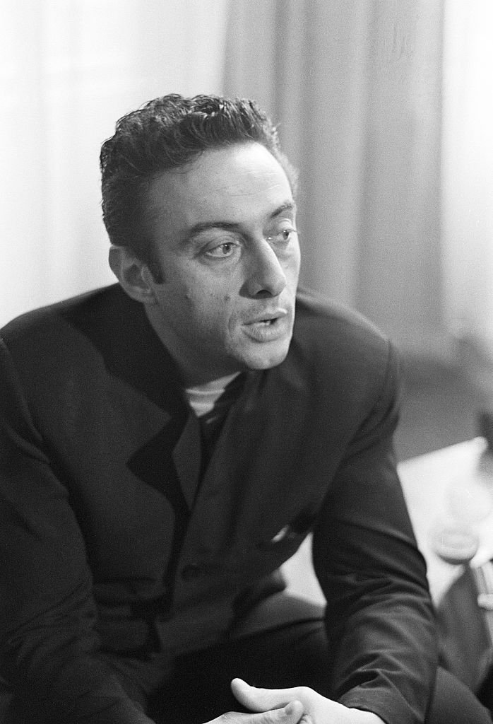 American comedian Lenny Bruce during his visit to London. 20th April 1962.   Photo: Getty Images
