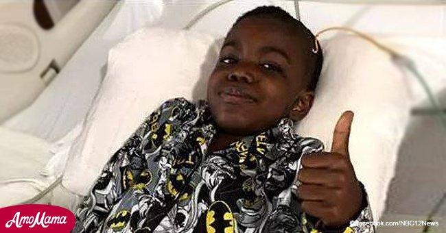 Rencontrez l'enfant de 8 ans qui ressort victorieux d'un cancer en phase terminale contre toute attente