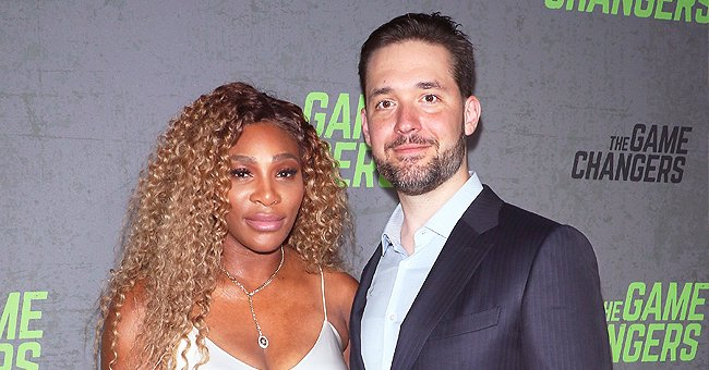 Serena Williams' Husband Alexis Ohanian Gives Her Piggyback Ride and Chases Daughter Olympia in a Video