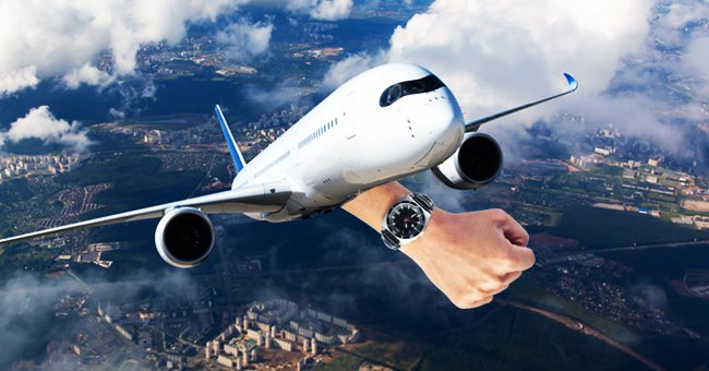Three millionaires were flying together in a private jet.   Photo: Shutterstock