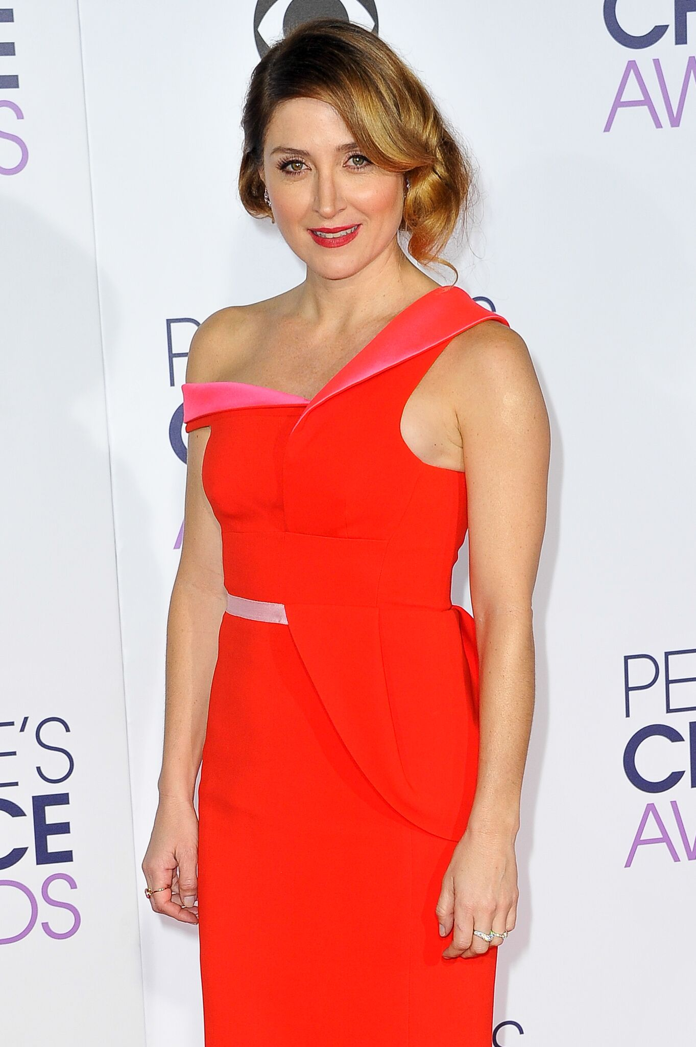 Sasha Alexander arrives at the People's Choice Awards 2016 at Microsoft Theater  | Getty Images