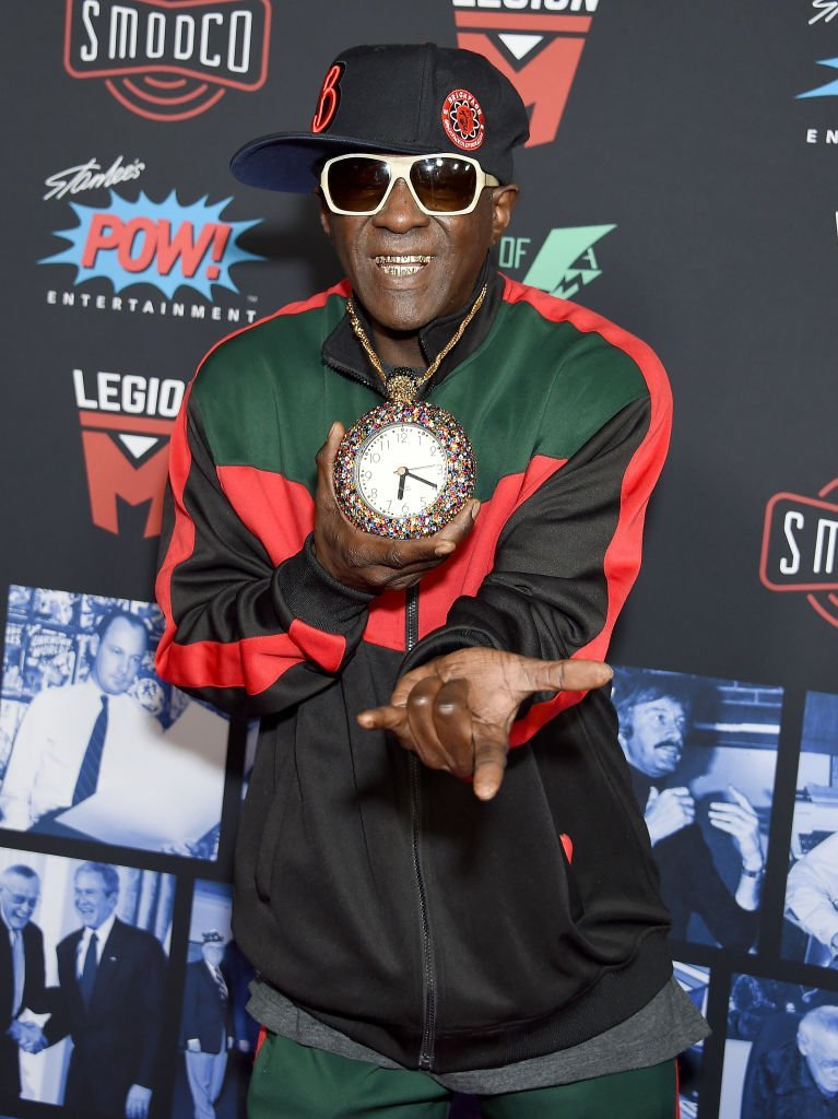 Flavor Flav at a celebration for Stan Lee in Hollywood in January 2019. | Photo: Getty Images