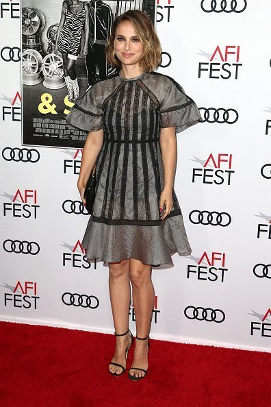 "Natalie Portman attends the AFI FEST 2019 Presented By Audi premiere of ""Queen & Slim"" at TCL Chinese Theatre in Hollywood, California 