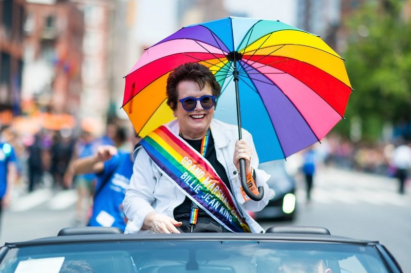 Billie Jean King on June 24, 2018 in New York City | Photo: Getty Images