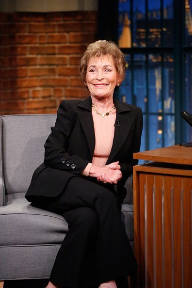 Judge Judy Sheindlin during an interview | Photo: Getty Images