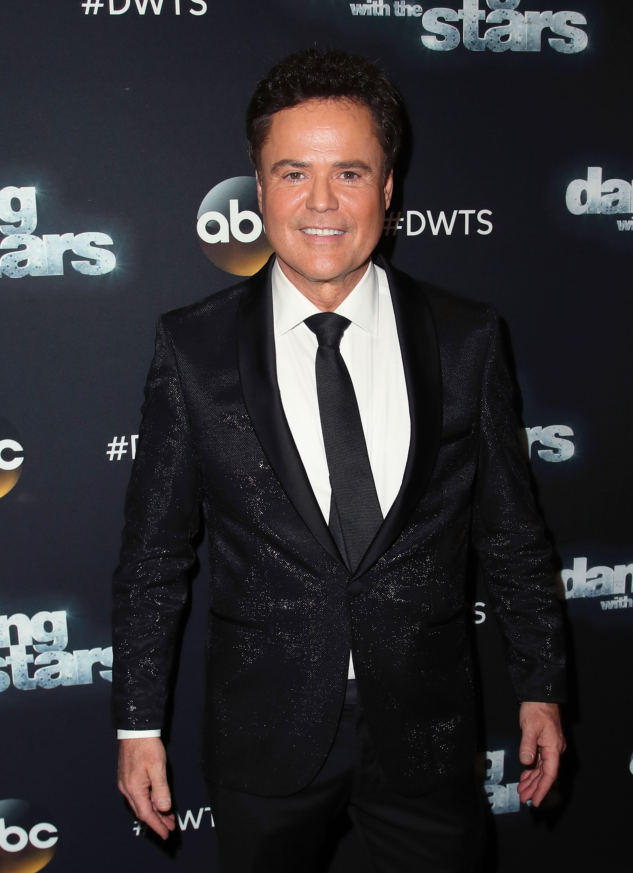 "Donny Osmond pictured at the Dancing with the Stars"" Season 24 at CBS Televison City, 2017, California. 