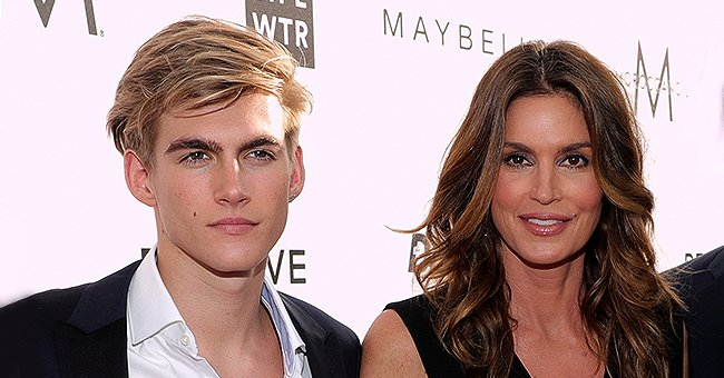 Cindy Crawford's Handsome Son Presley Gerber Is All Grown up and Is a Professional Model