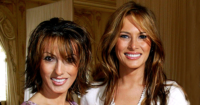 Melania Trump's Sister Ines Knauss Shares Old Black & White Photo with Their Mom on a Catwalk