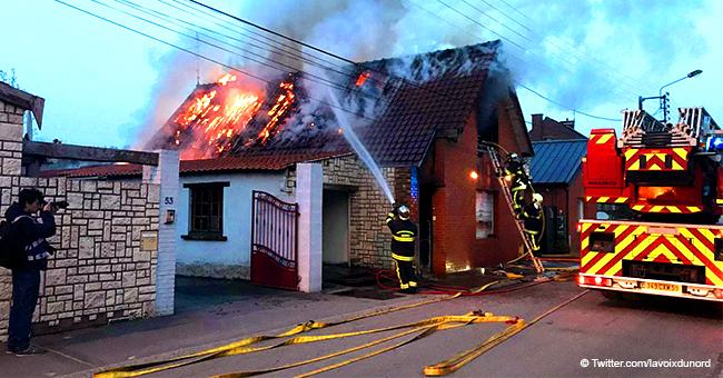 Douai : les pompiers sauvent une famille d'une maison en feu sauf un garçon de 10 ans
