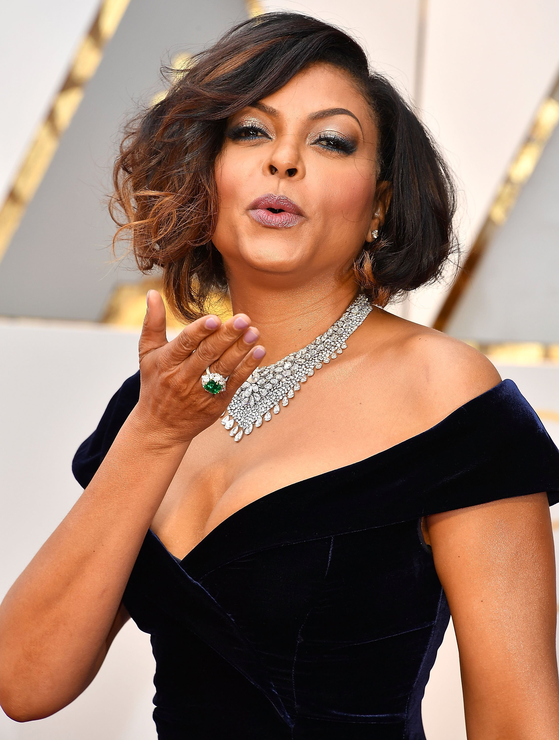 Taraji P. Henson at the 89th Annual Academy Awards at Hollywood & Highland Center on February 26, 2017, in Hollywood, California.| Source: Getty Images