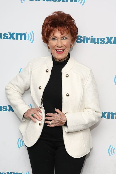 Marion Ross at the SiriusXM Studios on April 4, 2018 in New York City. | Photo: Getty Images
