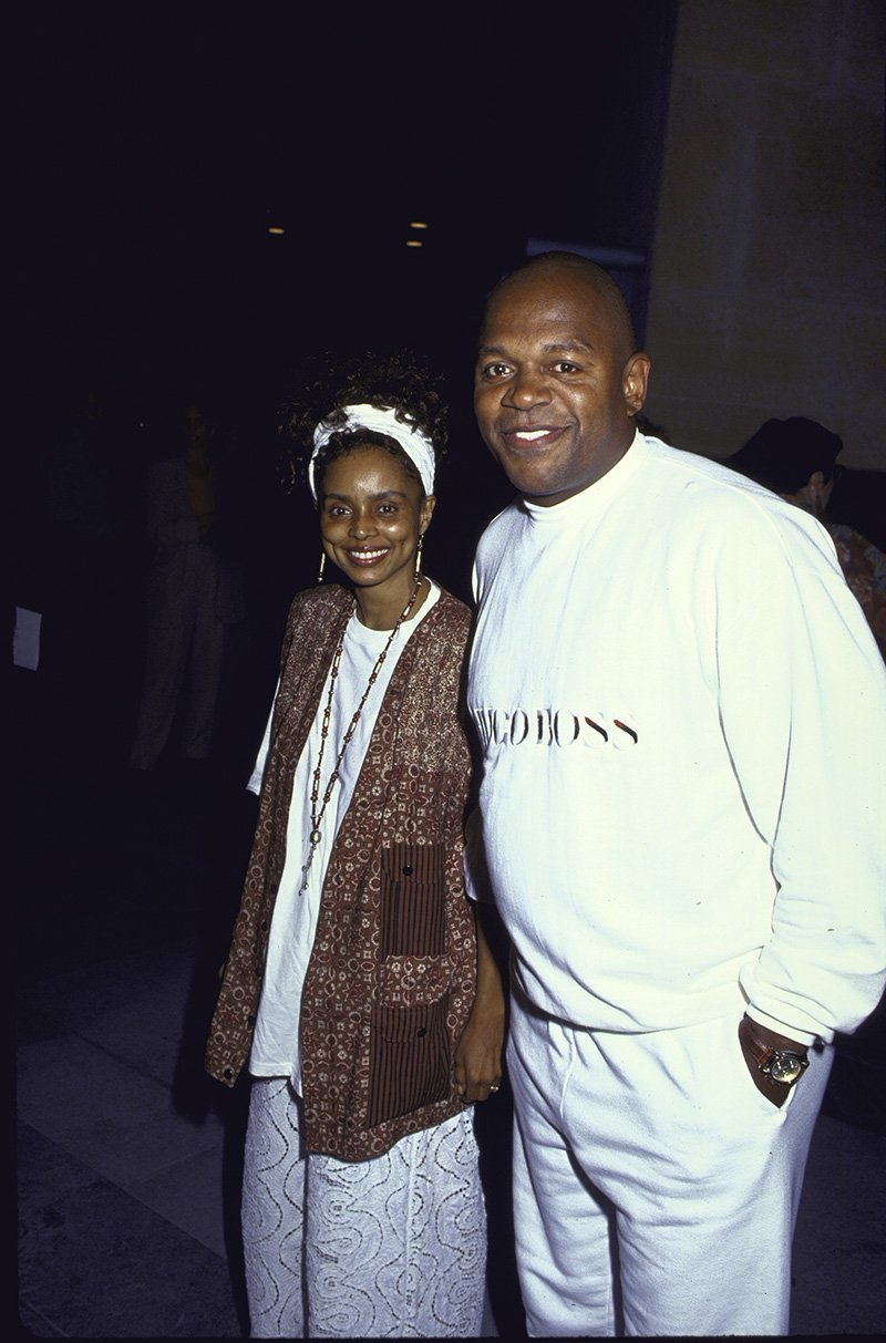 Former married couple Debbi Morgan and Charles S. Dutton. out in New York City in 1992. I Image: Getty Images.