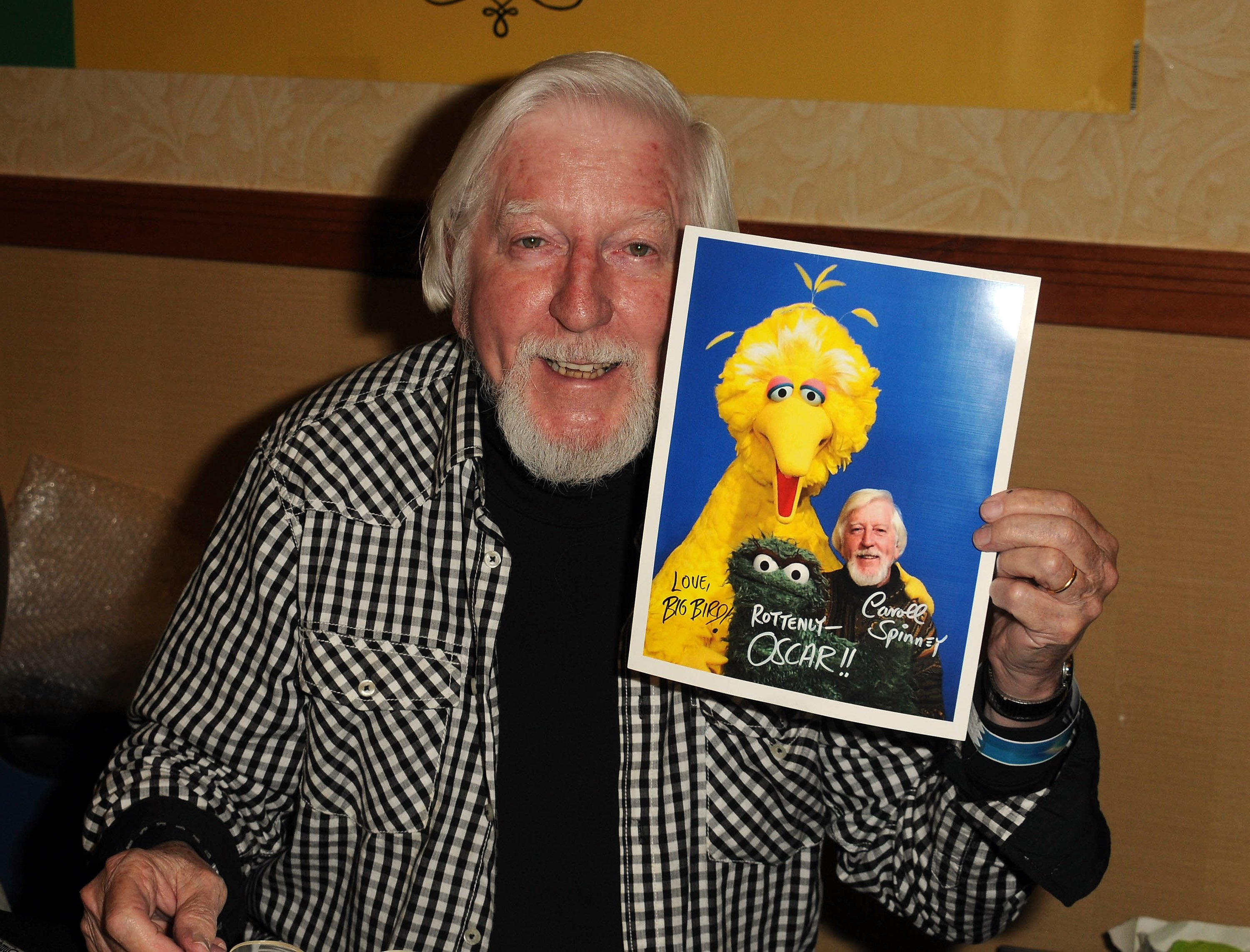 Puppetier Caroll Spinney at the 2012 Monsterpalooza held at Burbank Airport Marriott in Burbank, California | Photo: Albert L. Ortega/Getty Images