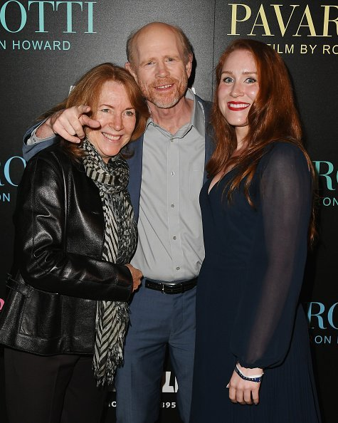 Cheryl Howard, Ron Howard, and Paige Howard at iPic Theater on May 28, 2019 in New York City. | Photo: Getty Images