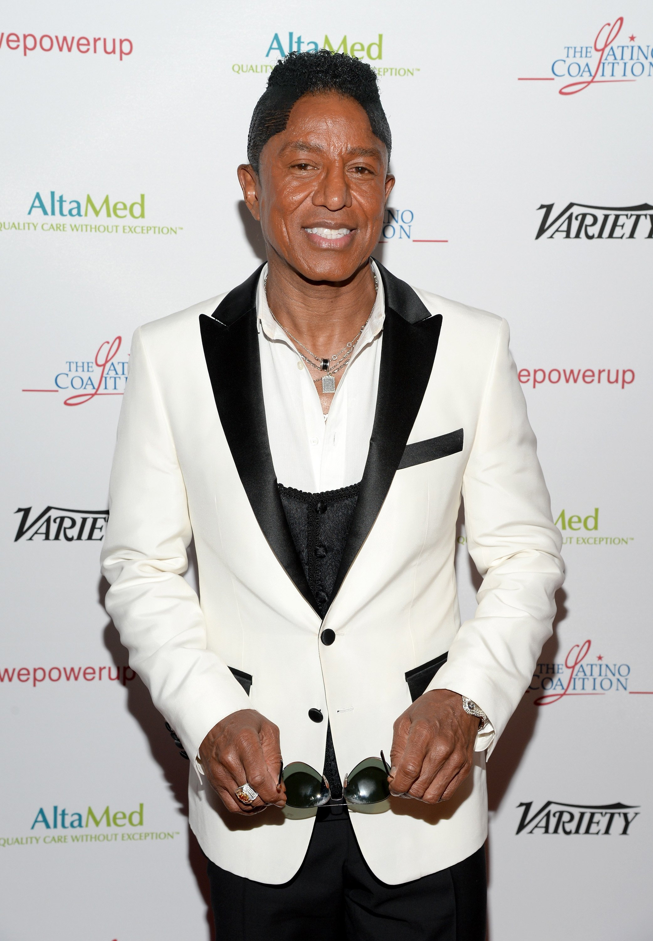 Jermaine Jackson attends the AltaMed Power Up, We Are The Future Gala at the Beverly Wilshire Four Seasons Hotel on May 12, 2016, in Beverly Hills, California. | Source: Getty Images.