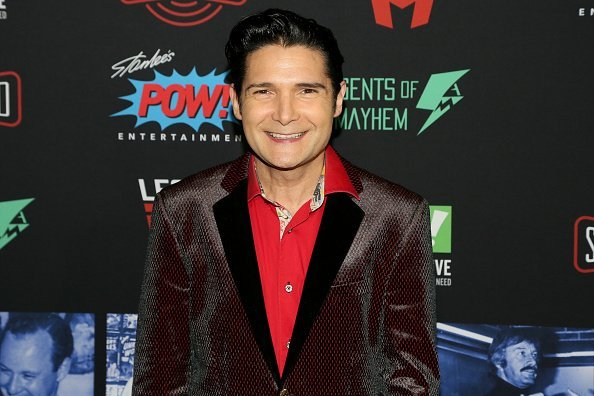 Corey Feldman arrives for Excelsior! A Celebration of The Amazing, Fantastic, Incredible and Uncanny Life Of Stan Lee at TCL Chinese Theatre on January 30, 2019, in Hollywood, California. | Source: Getty Images.