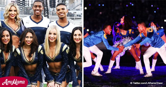 Two male cheerleaders to make history at the Super Bowl