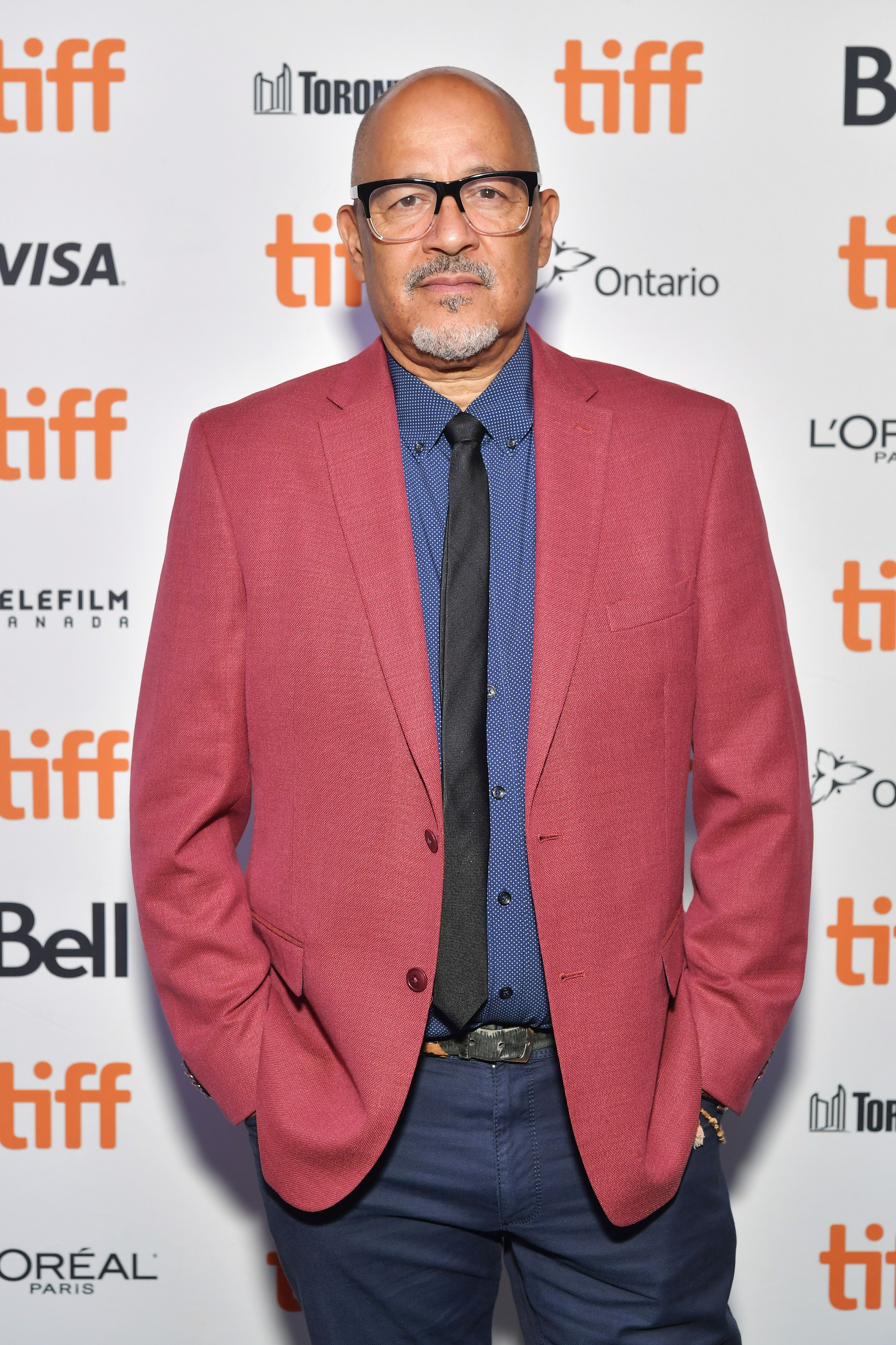 """Clark Johnson attends the """"Tammy's Always Dying"""" premiere. 