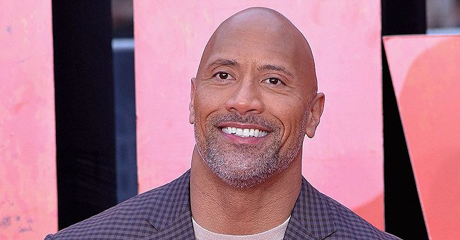 Check Out Dwayne Johnson and His Two Daughters Enjoying Breakfast and 'Lion King'