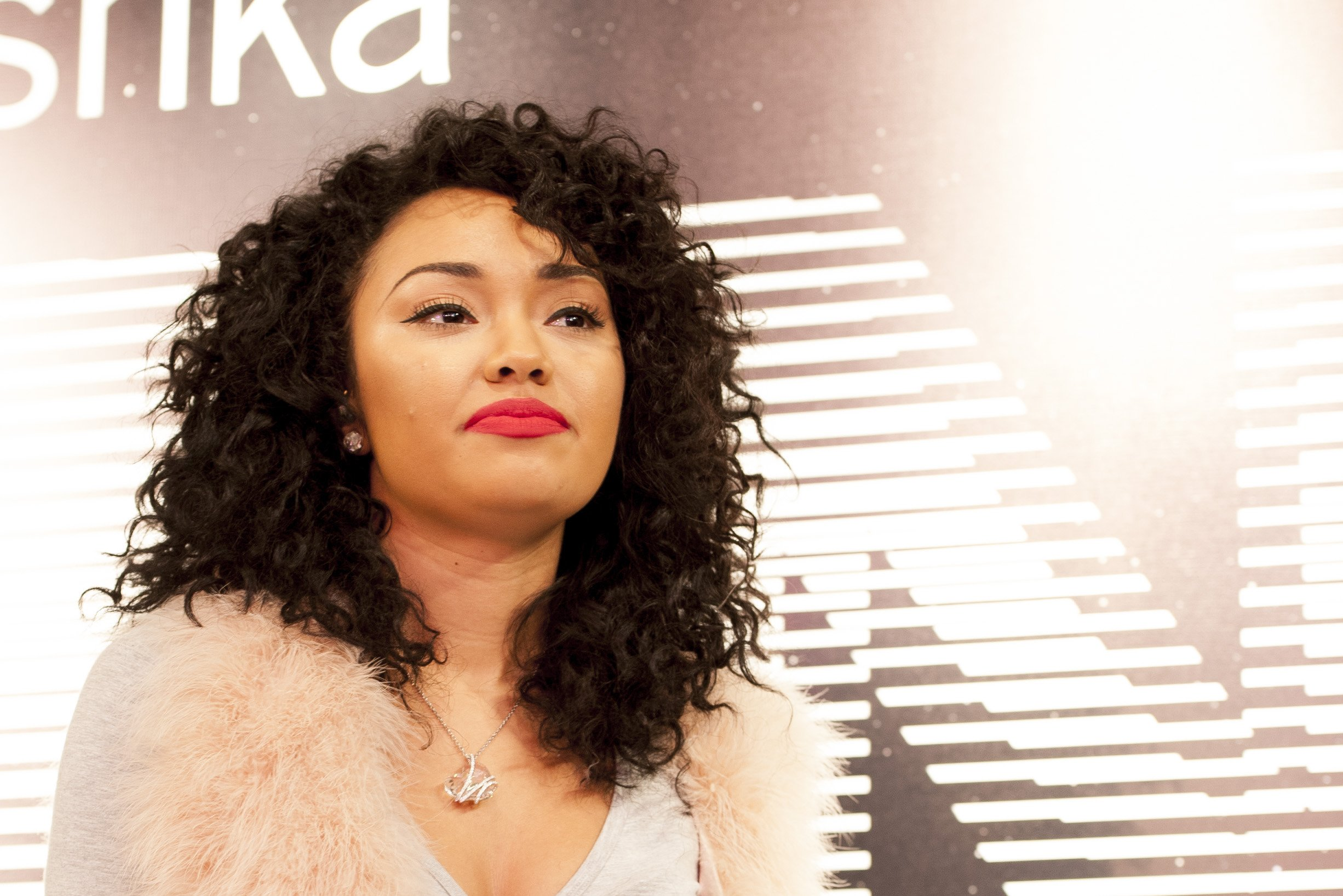 Leigh Anne Pinnock from Little Mix at the Bershka Flagship store launch party, on November 14, 2012 in Oxford Street, London   Photo: Shutterstock