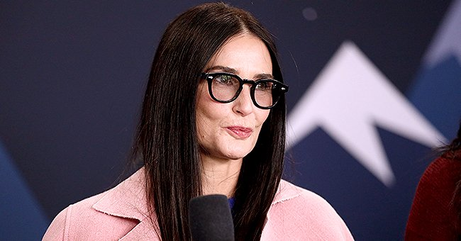 Demi Moore Looks Unrecognizable as She Goes Blonde for New Series 'Brave New World'