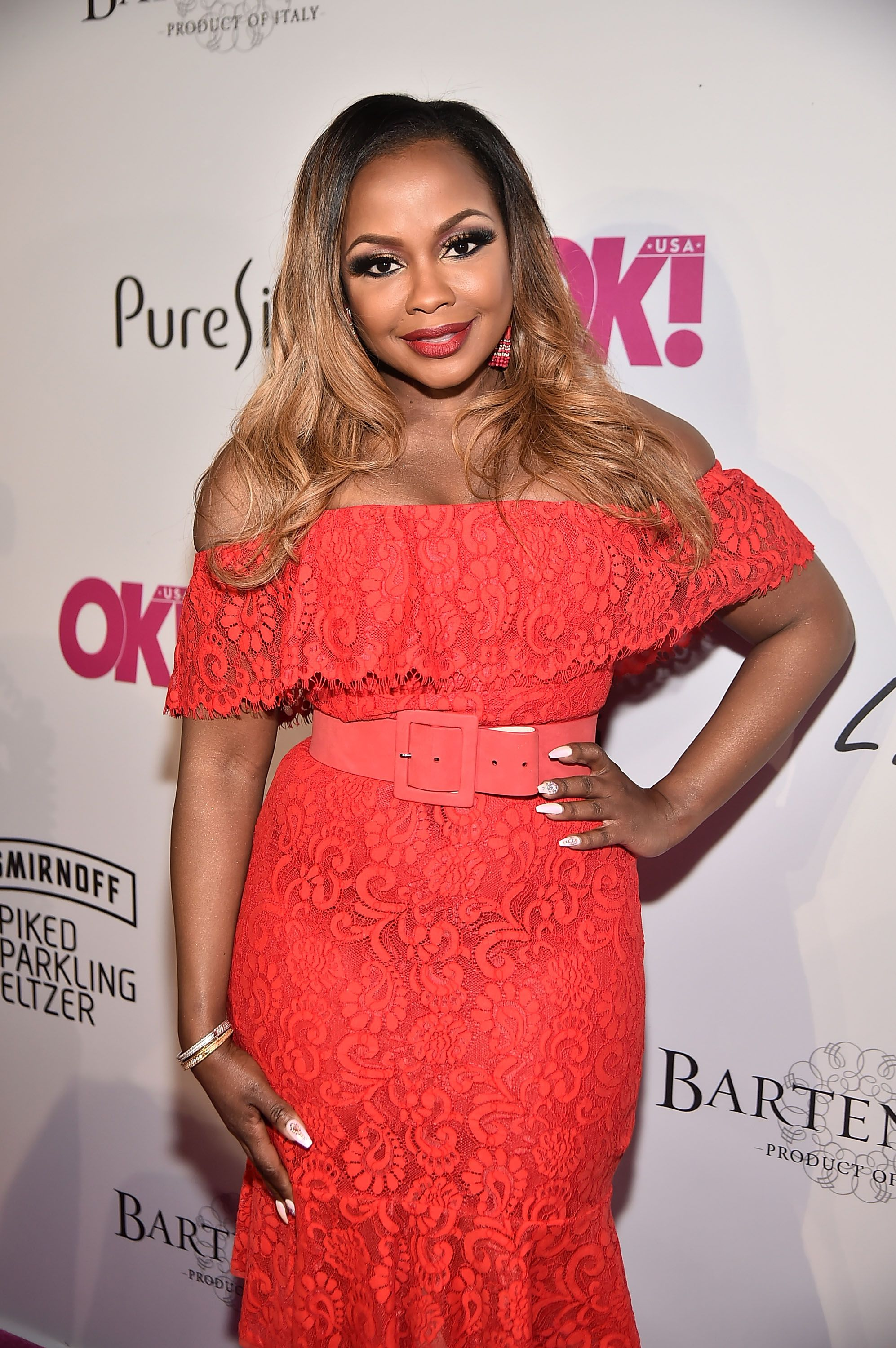 Phaedra Parks attends the OK! Magazine Summer Kickoff Party on May 15, 2018 in New York.   Photo: Getty Images