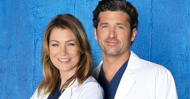 Ellen Pompeo and Patrick Dempsey as their characters, Dr. Meredith Grey and Dr. Derek Shepherd, in season 10. | Photo: Getty Images