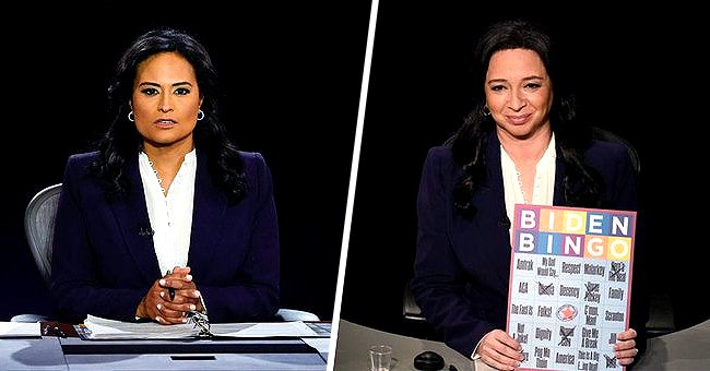 Side-by-side of Kristen Welker and Maya Rudolph | Source: twitter.com/TODAYshow   youtube.com/TODAY
