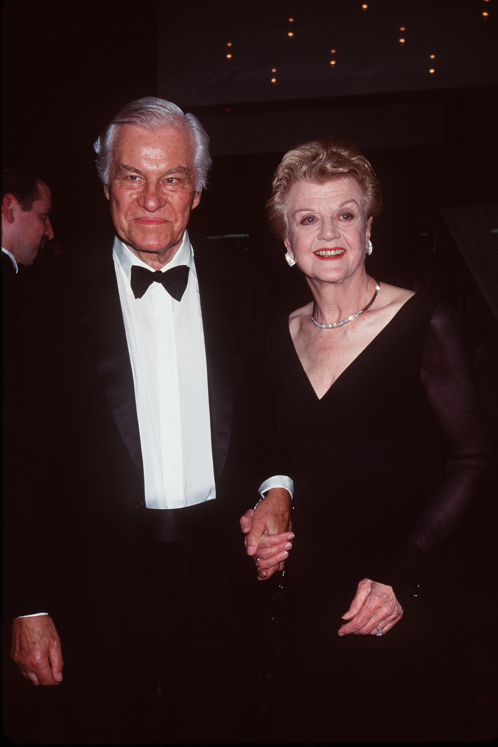 Angela Lansbury and husband Peter Shaw | Source: Getty Images